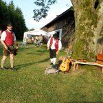 13 Musiker Baum Zelt