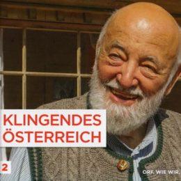 Ankündigung Klingendes Österreich