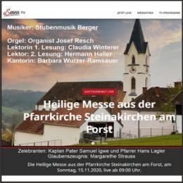 Leopoldi-Messe mit Servus TV
