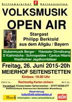 Volksmusik Open Air im Stiftsmeierhof Seitenstetten