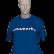"T02 – T-Shirt ""blaumocha"""